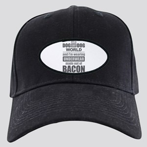 Dog Eat Dog - Bacon Black Cap with Patch