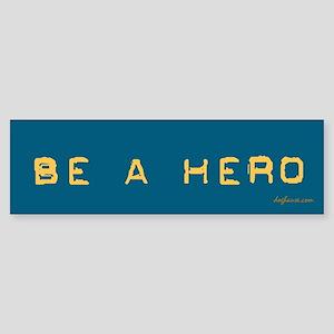 1/3 Be a Hero - Neuter Your Pet Bumper Sticker