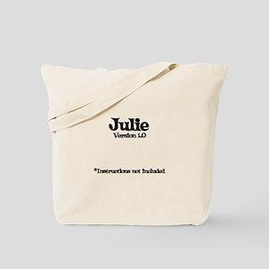 Julie - Version 1.0 Tote Bag