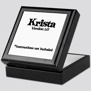 Krista - Version 1.0 Keepsake Box