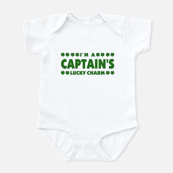 Captain's Lucky Charm Infant Bodysuit