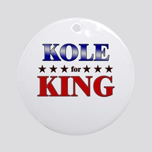 KOLE for king Ornament (Round)