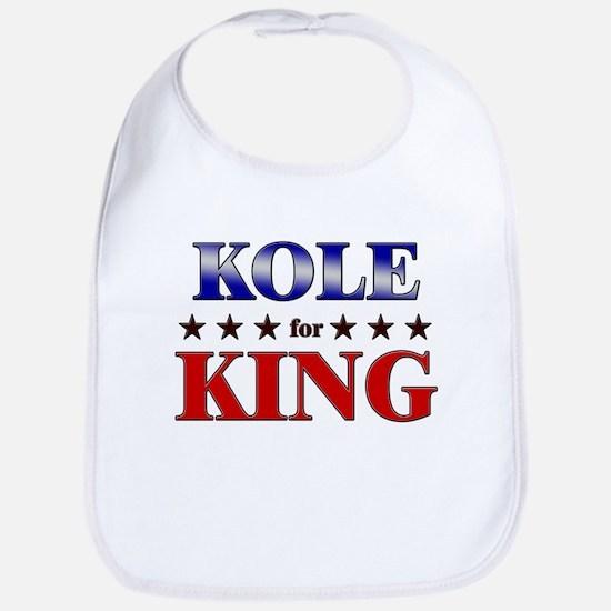 KOLE for king Bib