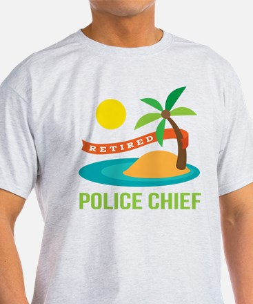 Retired Police chief White T-Shirt
