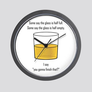 You Gonna Finish That? Wall Clock