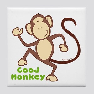 Good Monkey Tile Coaster