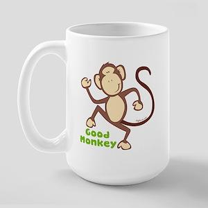 Good Monkey Large Mug