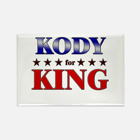 KODY for king Rectangle Magnet