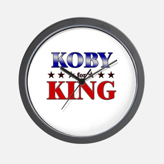 KOBY for king Wall Clock