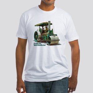 The steamroller Fitted T-Shirt