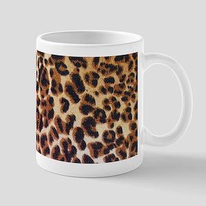 modern leopard print Mugs
