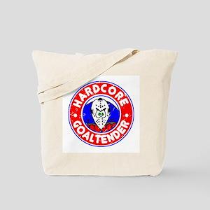 Hardcore Goaltender Tote Bag