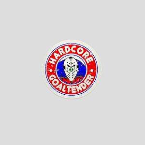 Hardcore Goaltender Mini Button