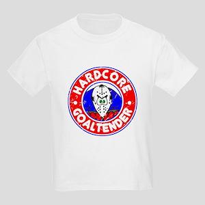 Hardcore Goaltender Kids Light T-Shirt