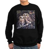 Barn owl Sweatshirt (dark)