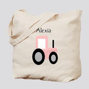 Alexia - Pink Tractor Tote Bag