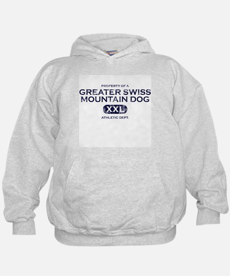 Property of Greater Swiss Mountain Dog Hoodie