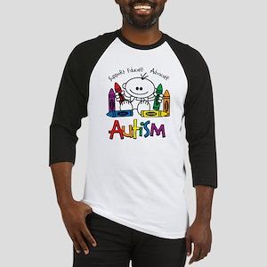 Autism Crayons Baseball Jersey