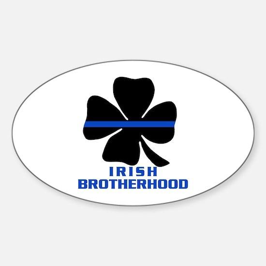 Irish Brotherhood Oval Decal
