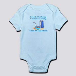 Cereal All The Time Infant Bodysuit