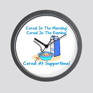 Cereal All The Time Wall Clock