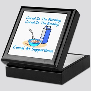 Cereal All The Time Keepsake Box