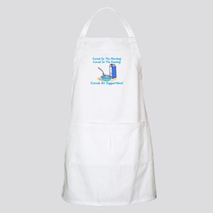 Cereal All The Time BBQ Apron
