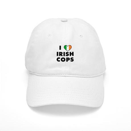 I Love Irish Cops Cap
