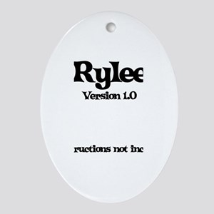 Rylee - Version 1.0 Oval Ornament