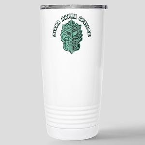 Sigma Alpha Epsil 16 oz Stainless Steel Travel Mug