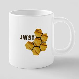 James Webb Mirror Logo 20 oz Ceramic Mega Mug