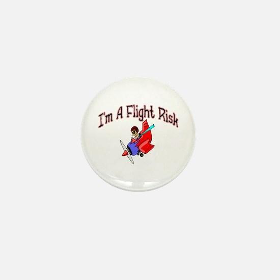 Flight Risk Mini Button