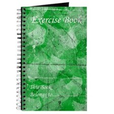 Exercise Book: Green Leaves Journal