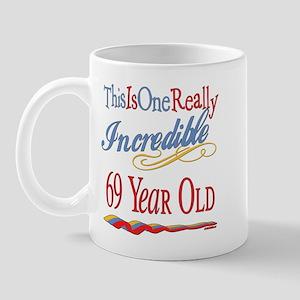 Incredible At 69 Mug