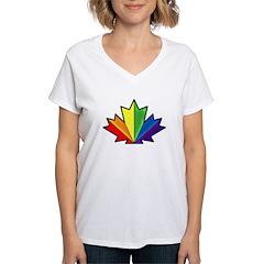 Pride Maple Leaf Shirt