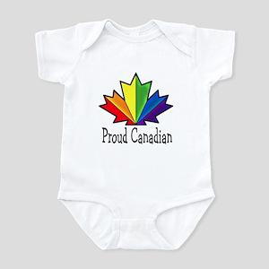 Proud Canadian Infant Bodysuit
