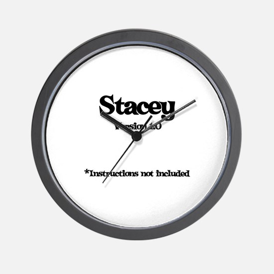 Stacey - Version 1.0 Wall Clock