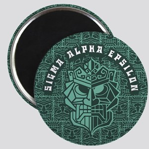 Sigma Alpha Epsilon Beach Magnet