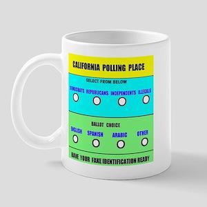 CALIFORNIA VOTERS Mug
