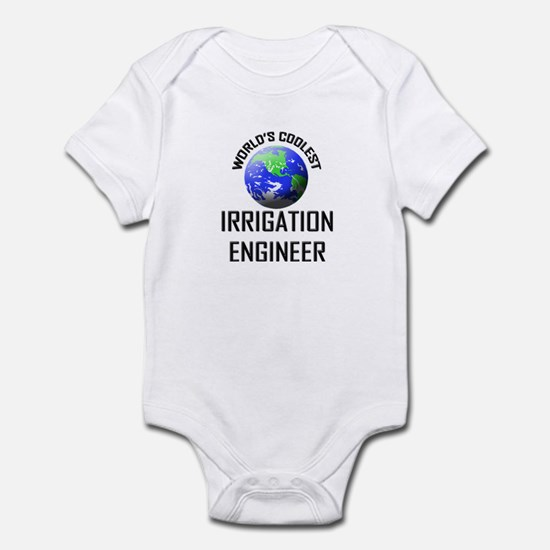 World's Coolest IRRIGATION ENGINEER Infant Bodysui