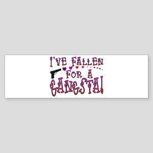 Gangsta Love Bumper Sticker