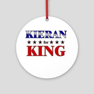 KIERAN for king Ornament (Round)