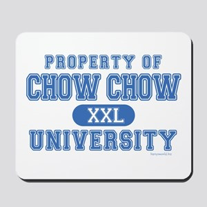 Chow Chow University Mousepad