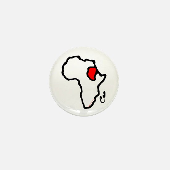 Heart of Africa- Sudan Mini Button