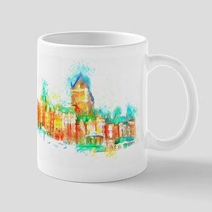 Chateau Frontenac Quebec City Mugs