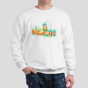 Chateau Frontenac Quebec City Sweatshirt