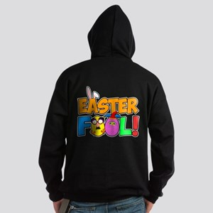 Easter Fool! Cracked Eggs Hoodie (dark)