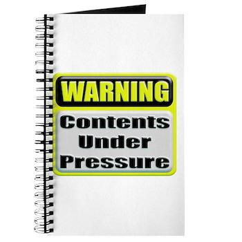 Contents Under Pressure Journal