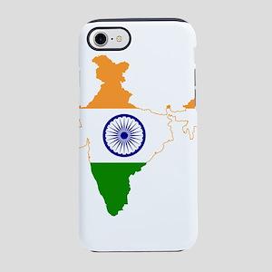 Indian Flag Map iPhone 8/7 Tough Case