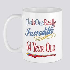Incredible At 64 Mug